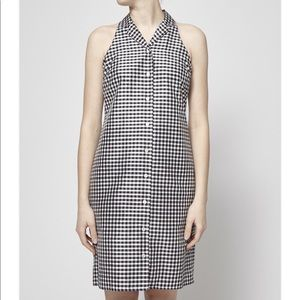 Ralph Lauren 100% Silk Plaid Dress Size 8